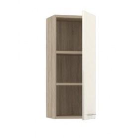Шкаф вертикальный правый Lucido (ШВ-01 п), цвет крем