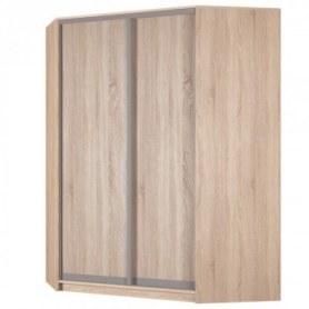 Угловой шкаф-купе Аларти (YA-198х1400(602) (8) Вар. 4; двери D6+D6), без зеркала