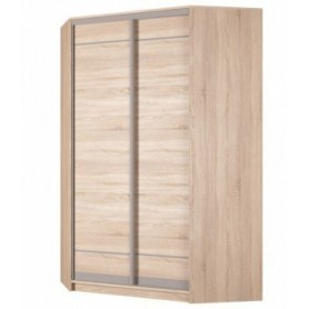 Угловой шкаф-купе Аларти (YA-230х1400(602) (4) Вар. 4; двери D1+D1), без зеркала