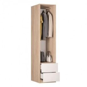 Шкаф одностворчатый Реал (Push to open; R-198х45х60-3-PO), без зеркала