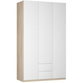Шкаф Реал распашной (Push to open; R-198х135х60-2-PO), без зеркала