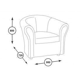 Современное кресло Лион