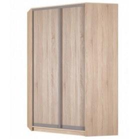 Угловой шкаф-купе Аларти (YA-230х1400(602) (4) Вар. 1; двери D6+D6), без зеркала