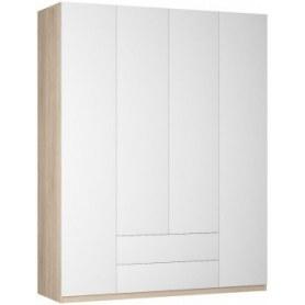Шкаф распашной Реал (Push to open; R-198х180х60-2-PO), без зеркала
