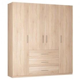 Шкаф Реал распашной (R-198х180х45-3), без зеркала
