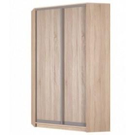 Угловой шкаф-купе Аларти (YA-230х1250(602) (2) Вар. 4; двери D6+D6), без зеркала