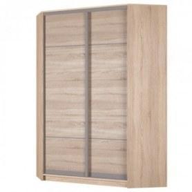 Угловой шкаф-купе Аларти (YA-198х1250 (602) (6) Вар. 5; двери D4+D4)