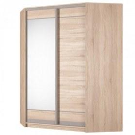 Угловой шкаф-купе Аларти (YA-198х1400 (602) (8) Вар. 1), с зеркалом