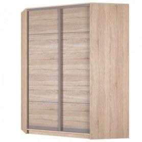 Угловой шкаф-купе Аларти (YA-198х1400 (602) (8) Вар. 1; двери D4+D4), без зеркала