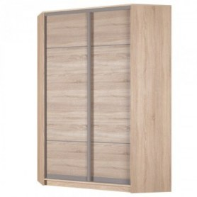 Угловой шкаф-купе Аларти (YA-198х1250 (602) (6) Вар. 1; двери D4+D4), без зеркала