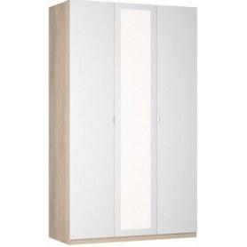 Шкаф Реал распашной (R-230х135х60-1-TR-М), с зеркалом