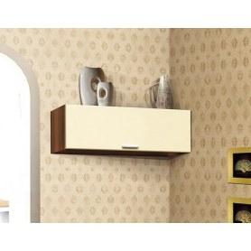 Шкаф навесной М-9, цвет Ваниль глянец, Дуб Баррик
