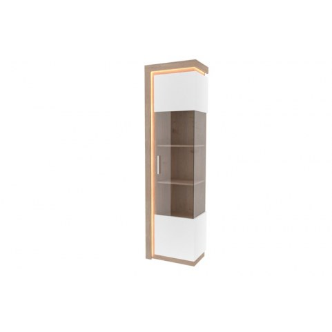 Шкаф-витрина правый Неон ЛД 667.040, белый