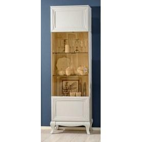 Шкаф одностворчатый со стеклодверью, Бьянка, 670020