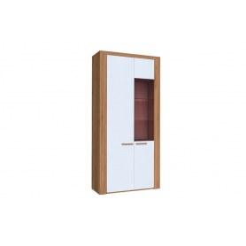 Шкаф двухстворчатый Лакоста, ЛД 673.010, дуб золотой/серый
