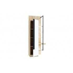 Шкаф правый Кельн, 674060, белый/дуб золотой