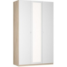 Шкаф Реал распашной (R-198х135х60-1-TR-М), с зеркалом