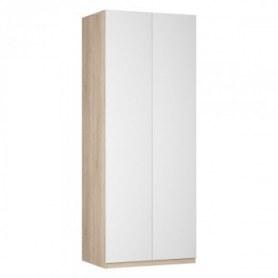 Шкаф двустворчатый Реал (Push to open; R-230х90х60-2-PO), без зеркала