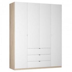 Шкаф Реал распашной (R-230х180х60-3-TR), без зеркала