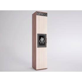 Шкаф-пенал Лотта 3 EVO (Ясень Шимо светлый/темный)