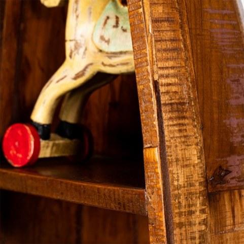 Стеллаж Сагар, с отделением для хранения вина и ящиком