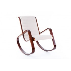 Кресло-качалка Арно, ткань миндаль