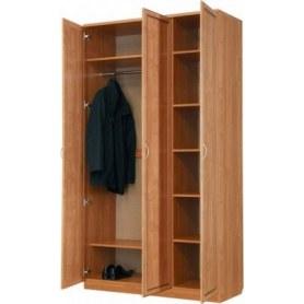 Шкаф 106 3-х створчатый, цвет Итальянский Орех