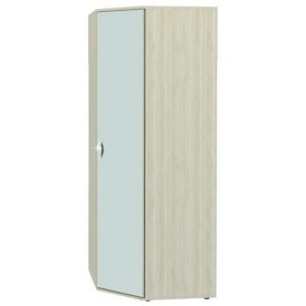 Соната 98.09 Шкаф правый универсальный с зеркалом 890х890х2250