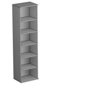 Шкаф комбинированный Gloss, фасад кожзам, (G-ШК к, Дуб Шамони)