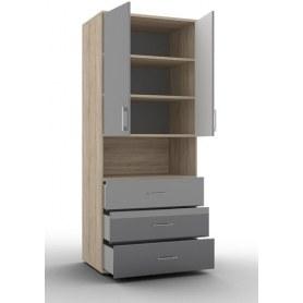 Шкаф для одежды Lucido, (ШО-02/3), цвет крем