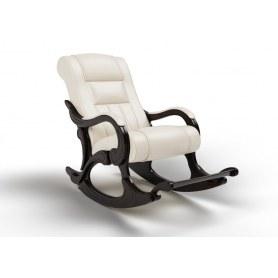 Кресло-качалка Родос, экокожа крем