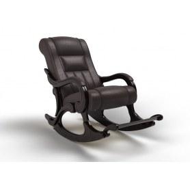 Кресло-качалка Родос, экокожа венге