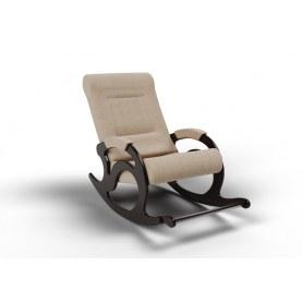 Кресло-качалка Тироль, ткань песок