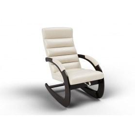 Кресло-качалка Ното, экокожа крем
