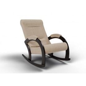 Кресло-качалка Венето, ткань песок