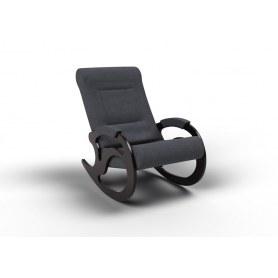 Кресло-качалка Вилла, ткань графит