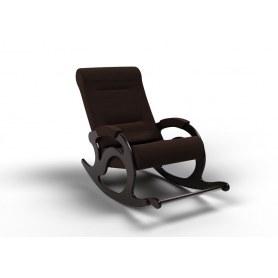 Кресло-качалка Тироль, ткань шоколад
