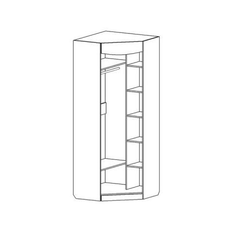 Шкаф угловой Мария-Луиза №5
