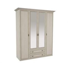 Шкаф 4-створчатый м19 Равенна, цвет сосна карелия