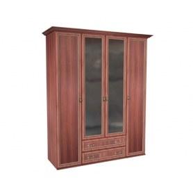 Шкаф 4-створчатый м19 Равенна, цвет ноче луиза