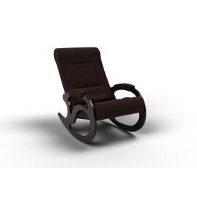 Кресло-качалка Вилла, ткань шоколад