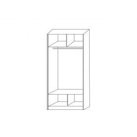 Шкаф-купе 2-х дверный  Хит-22-12/2-77-30, 2200х1200х620, фотопечать