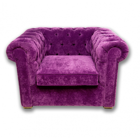 Кресло Честер с мягкими подлокотниками