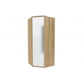 Шкаф угловой 45 с зеркалом Фиджи ЛД 659.246, антроцит