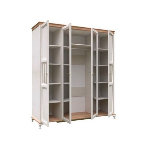 Шкаф четырехстворчатый Вилладжио, ЛД 680.100.000.010, 2 зеркала