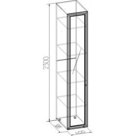 Шкаф Paola 55 + Фасад Стандарт Правый