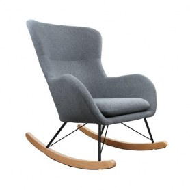 Кресло-качалка Leset SHERLOCK, Серый