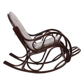 Кресло-качалка MI-001 CLASSIC с подушкой, Орех