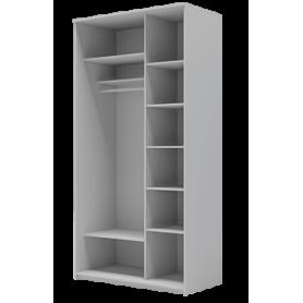 Шкаф-купе 2-х дверный 2200х1500х420 фотопечать, рисунок