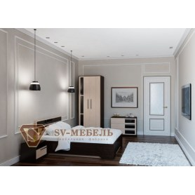 Спальный гарнитур Эдем 2, венге